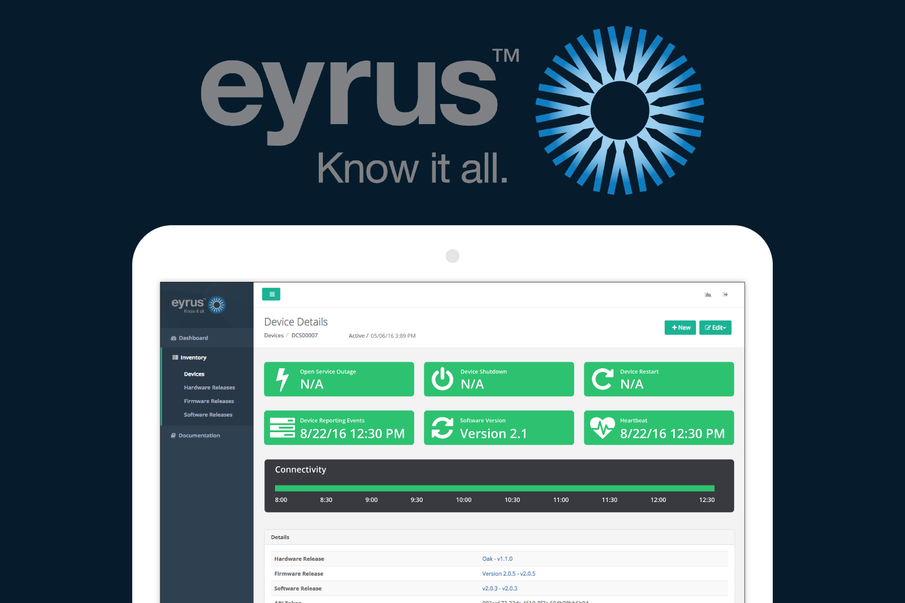 Eyrus Construction Analytics