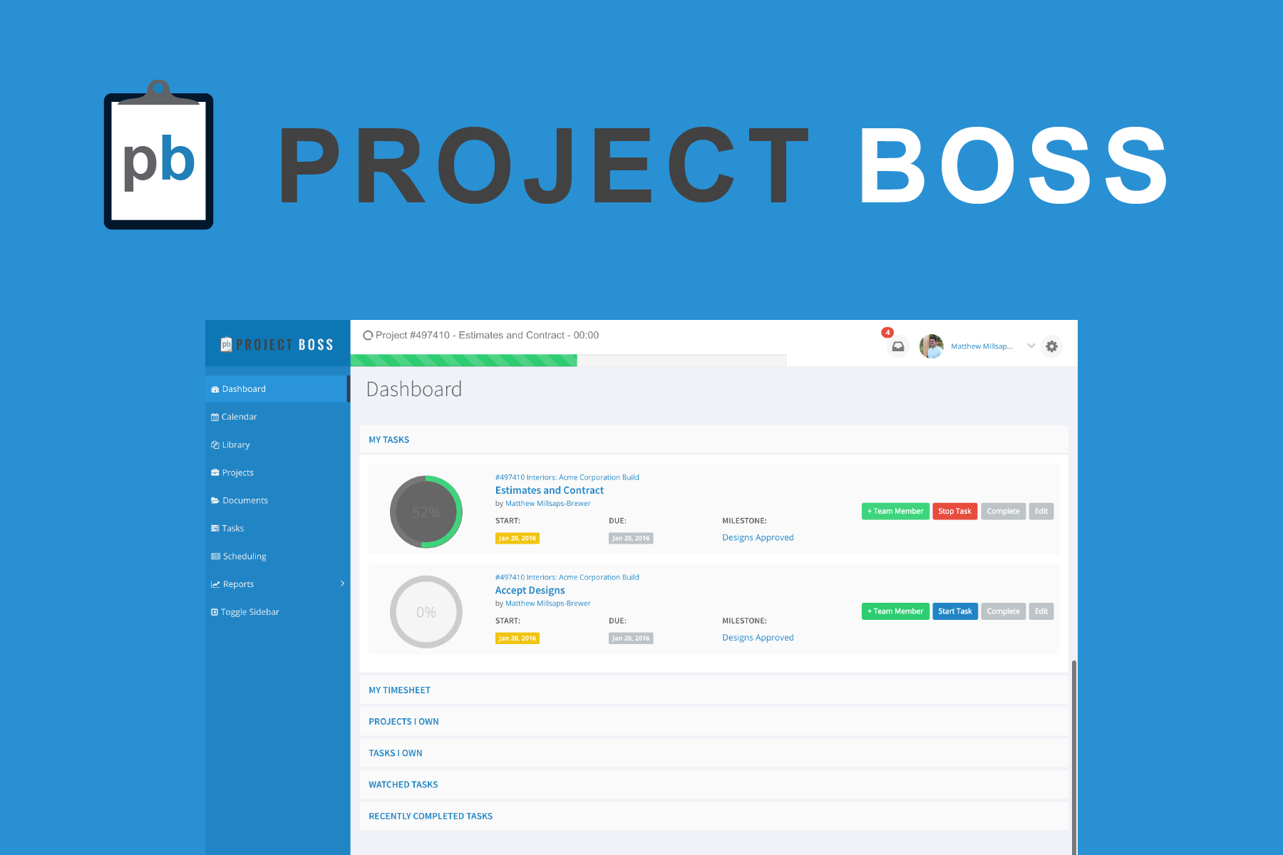 Project Boss - Project Management, HR and Invoicing